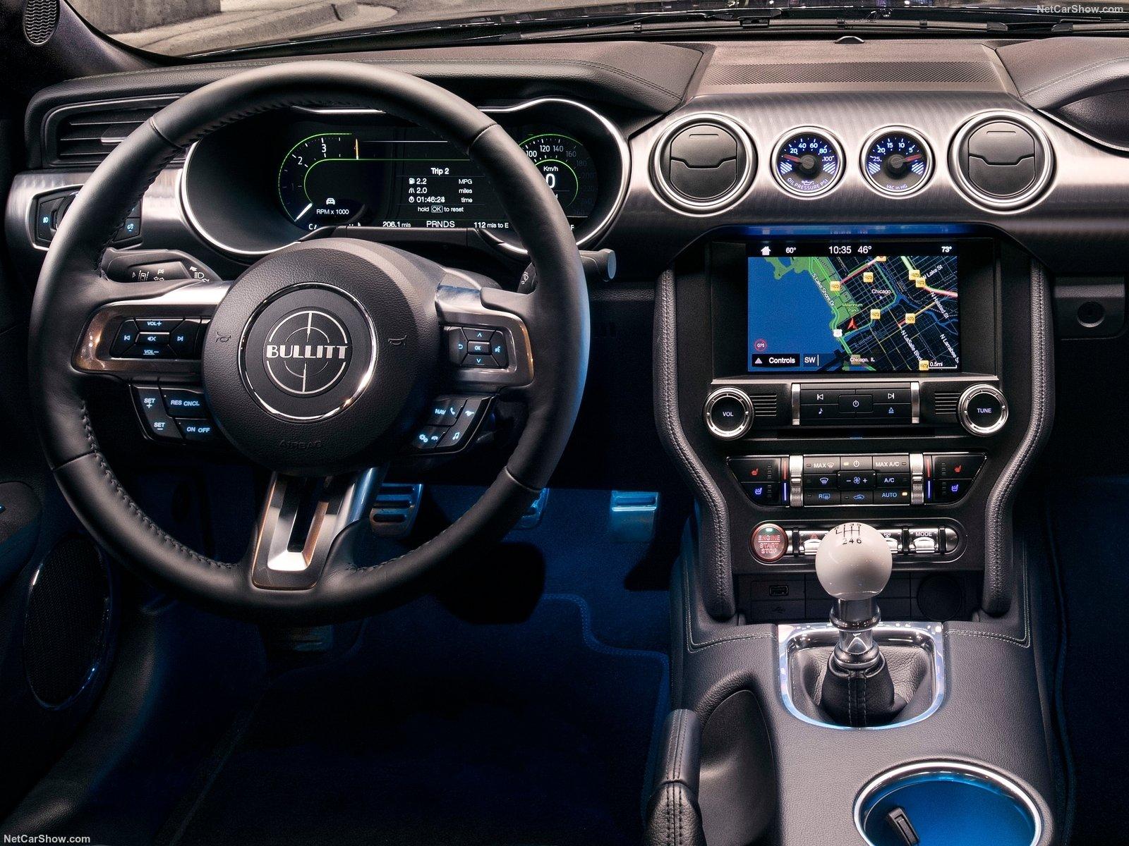 Hintergrundbilder Ford Mustang Bullitt 2019 1600x1200 Ettie03