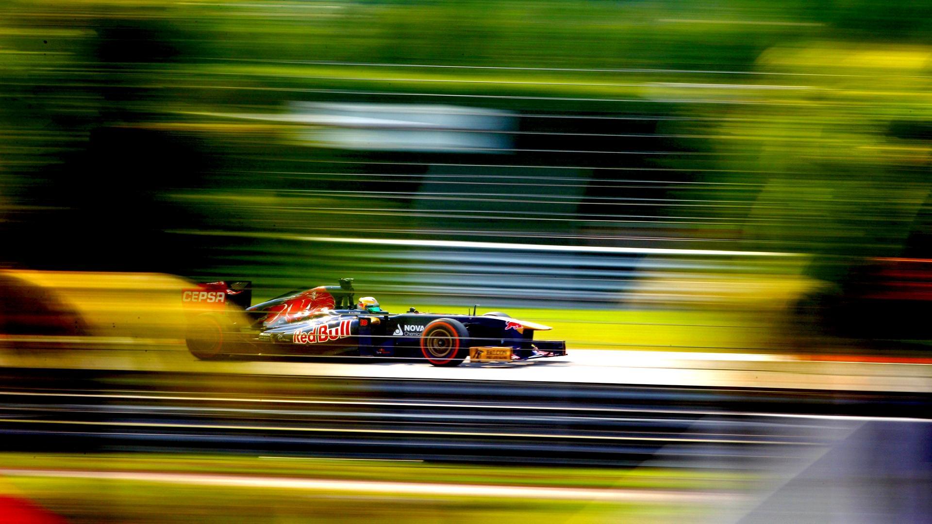 Formula 1 Red Bull Racing Car Race Cars Sport Sports Motion Blur