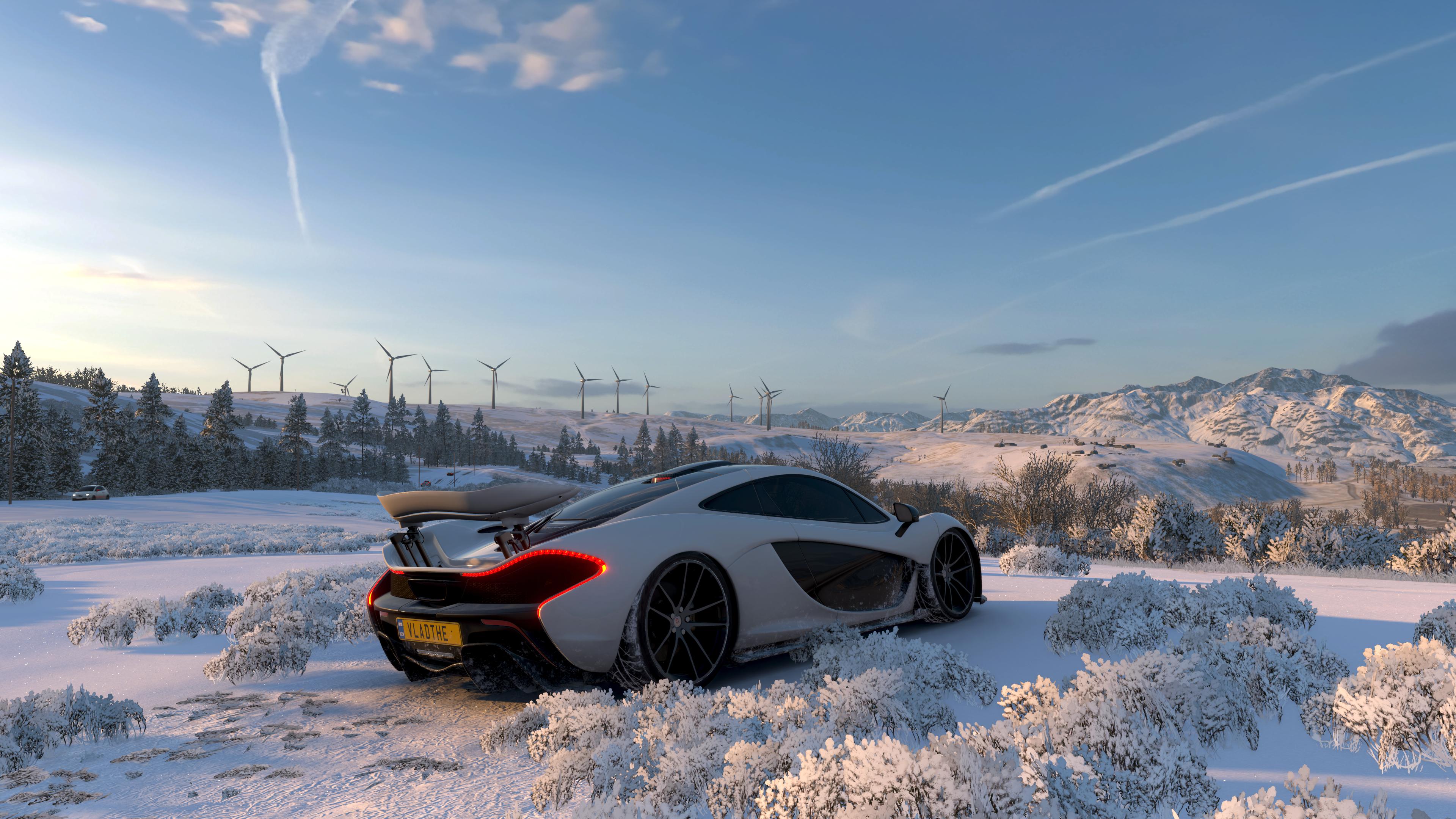 Wallpaper Forza Horizon 4 3840x2160 Tastyykilla