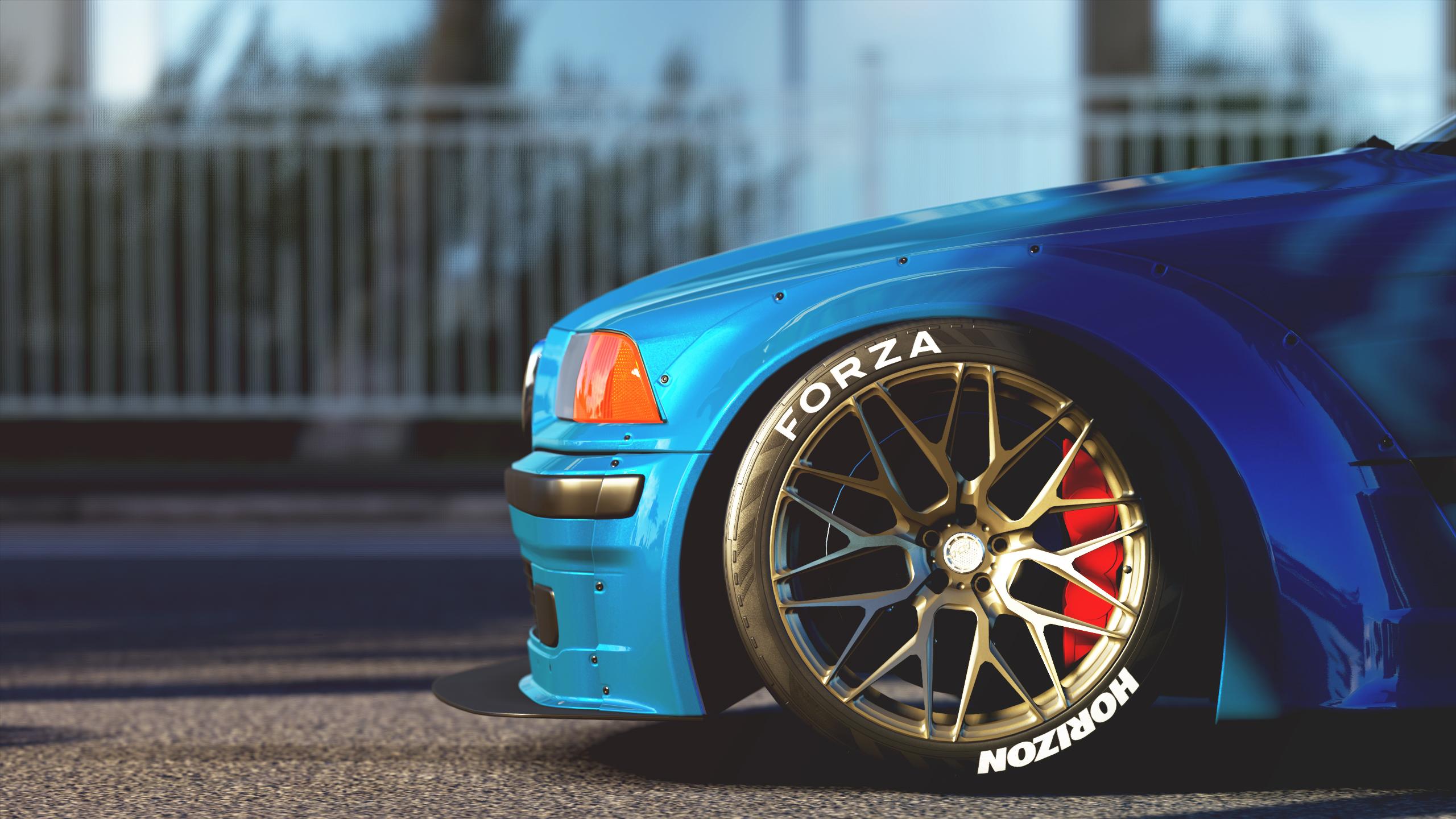 Forza Games Horizon 3 Bmw M3 E36 BMW Car Video Rocket Bunny