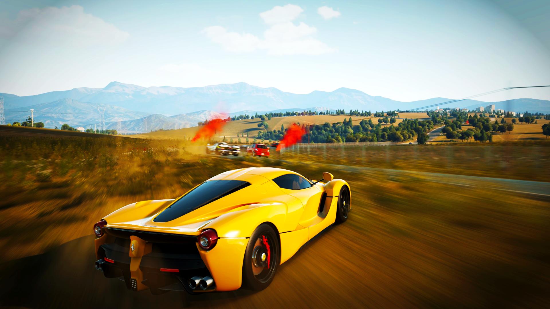 Wallpaper : Forza Horizon 2, Ferrari LaFerrari, car ...
