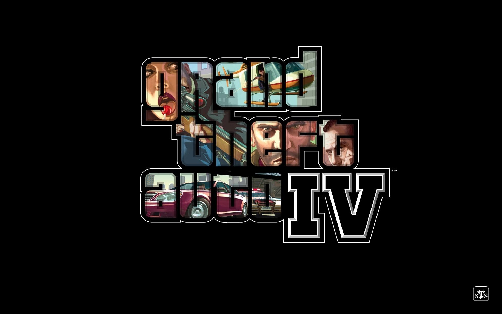 Wallpaper Gta Grand Theft Auto 4 Game Name Shots 1920x1200