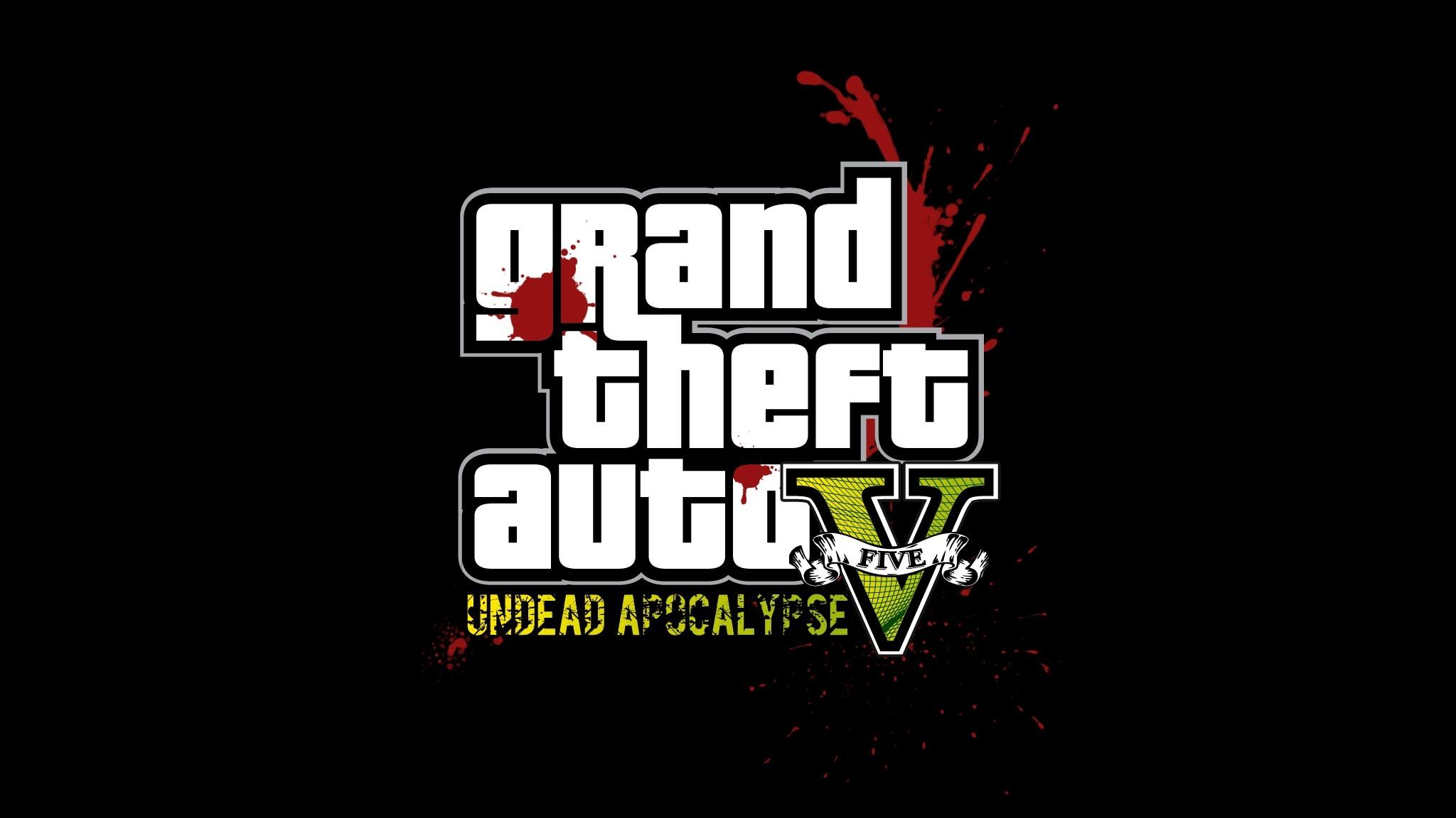 Wallpaper Gta Grand Theft Auto 5 Undead Apocalypse