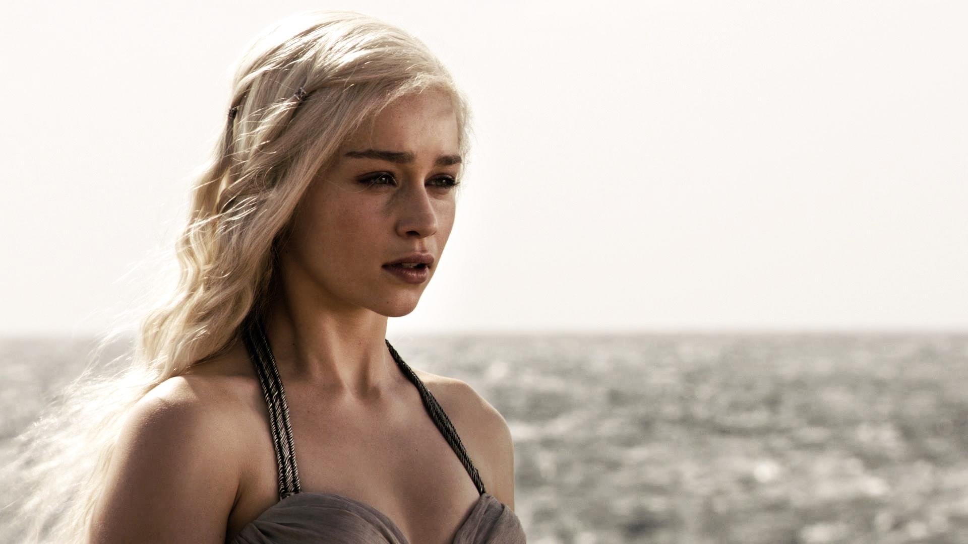 Wallpaper Game Of Thrones Daenerys Targaryen Emilia Clarke