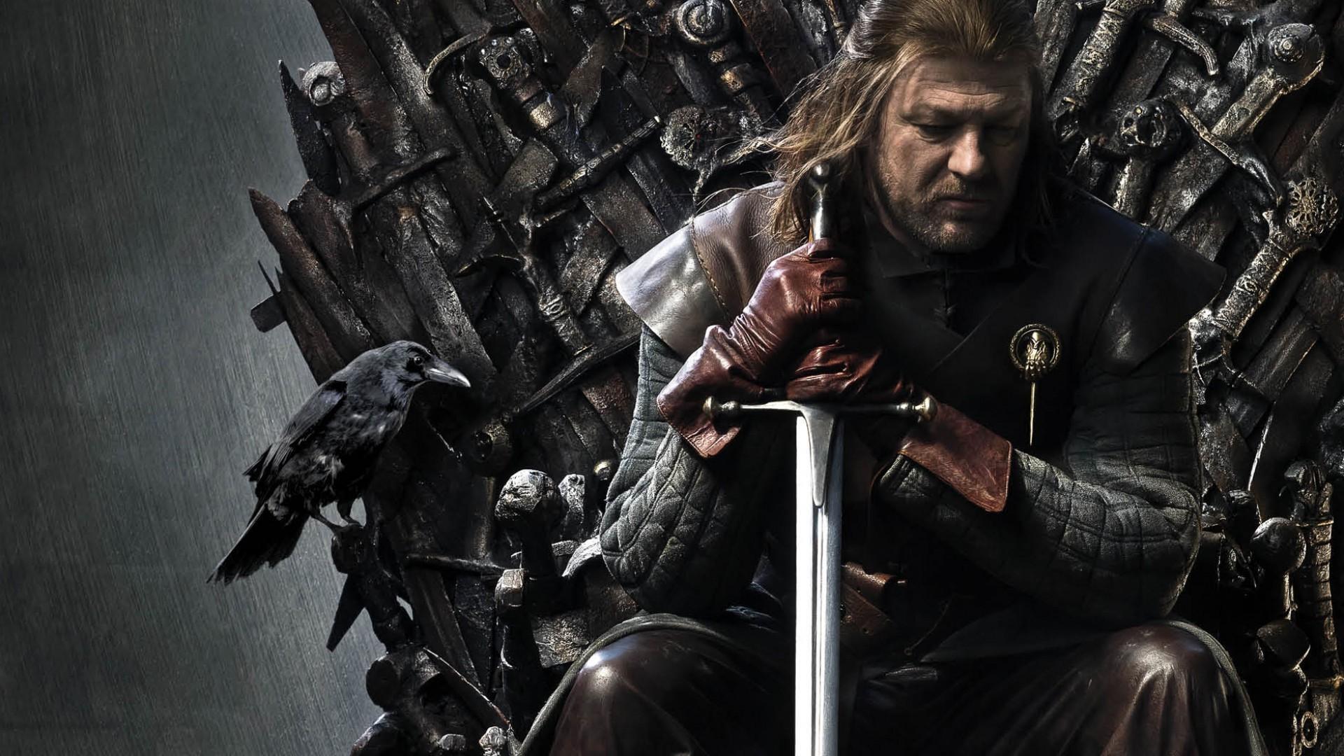 Wallpaper Game Of Thrones House Stark Ned Stark Sean Bean Iron