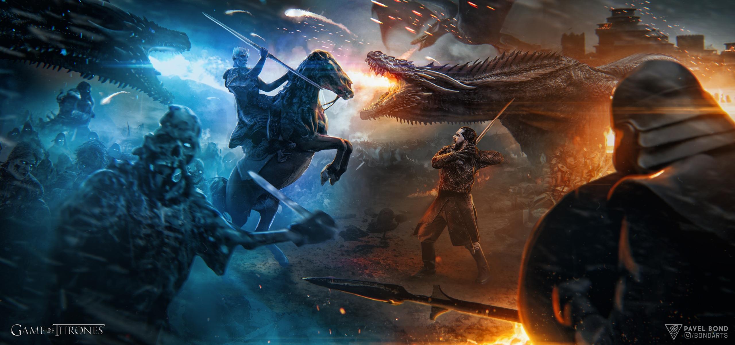 Wallpaper Game Of Thrones War Battle Aegon Targaryen Jon