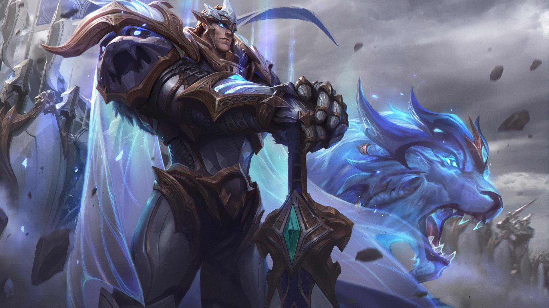 Garen League Of Legends Darius Digital Art