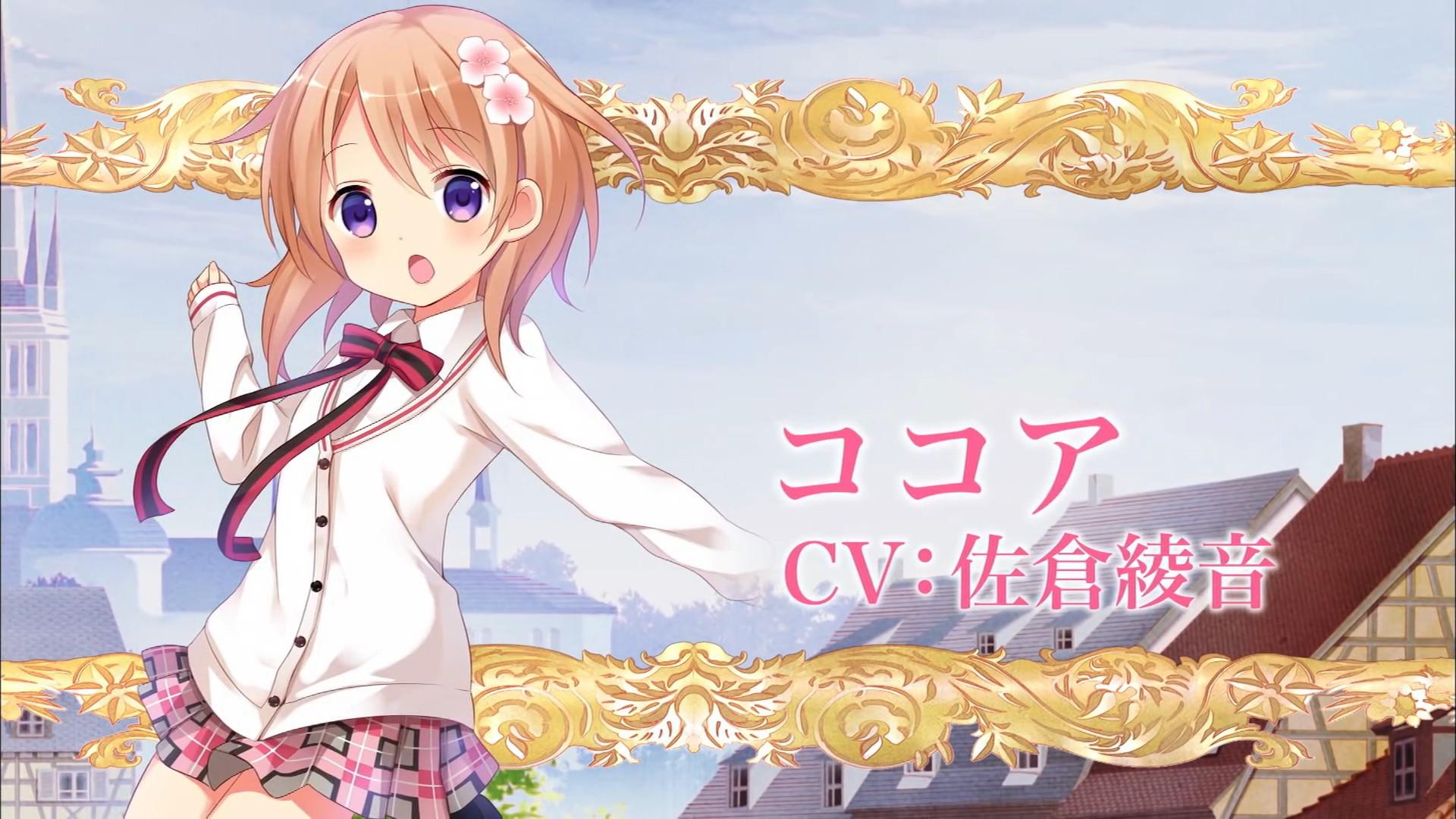 Wallpaper Gochuumon Wa Usagi Desu Ka Anime Girls Hoto Kokoa