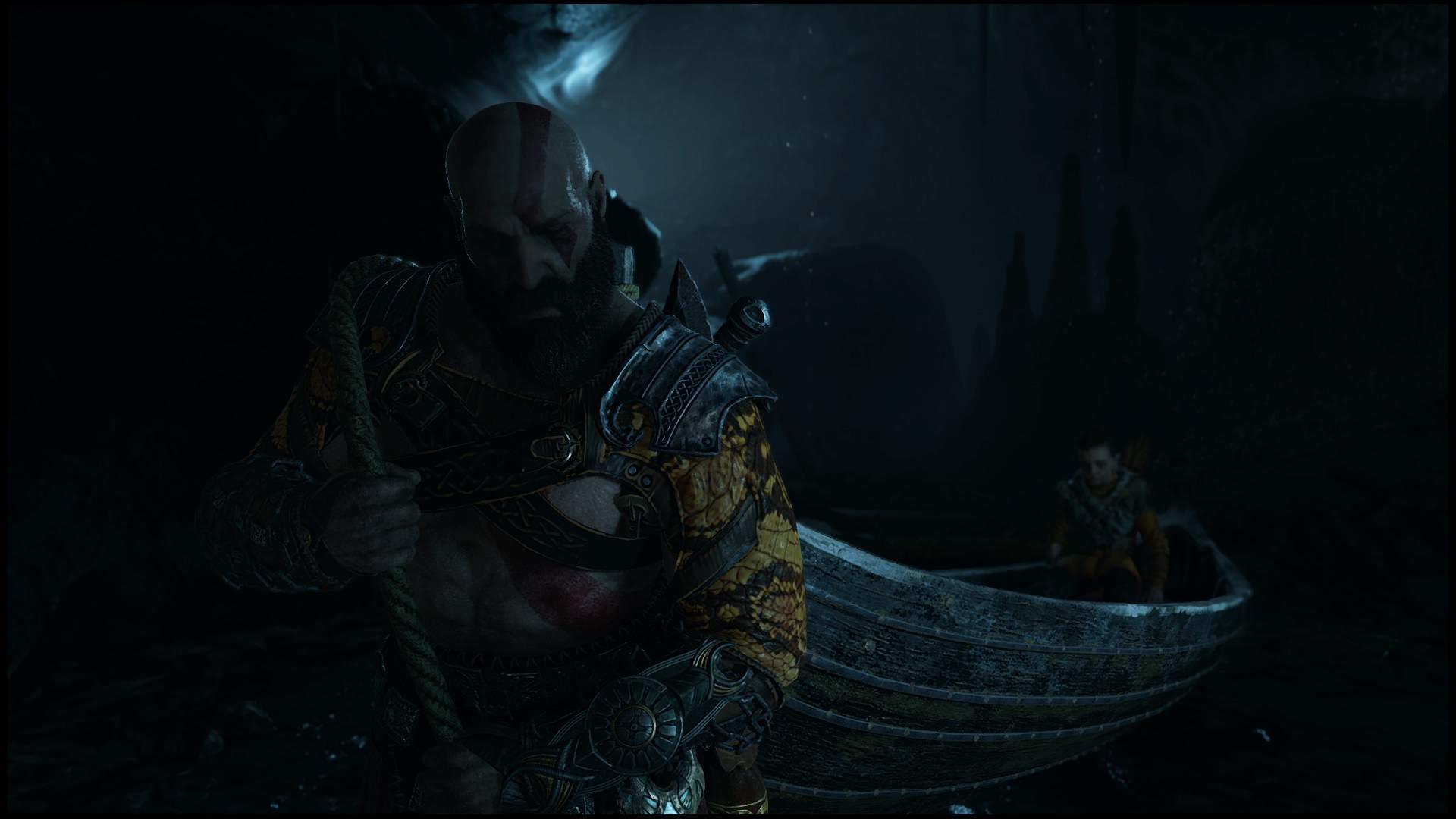Wallpaper God Of War God Of War 2018 Kratos Playstation