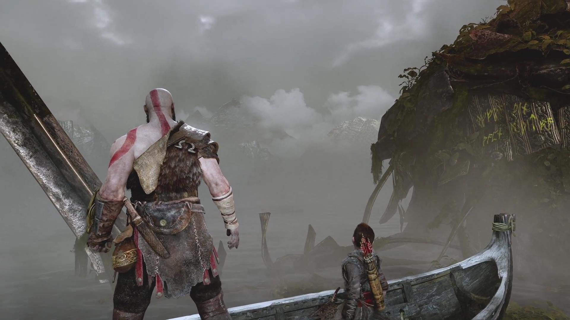 Wallpaper God Of War Kratos God Of War 2018 1920x1080