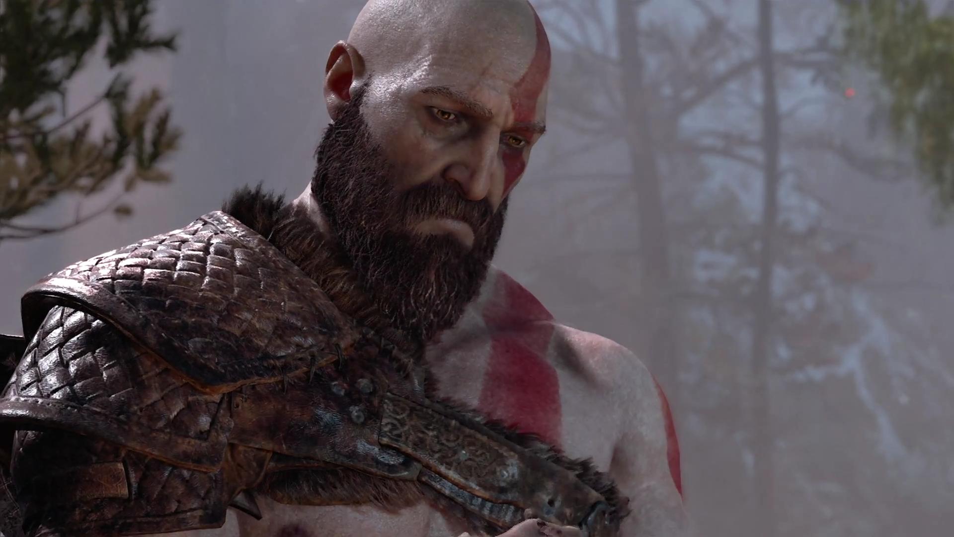Wallpaper God Of War Kratos Video Games God Of War 2018