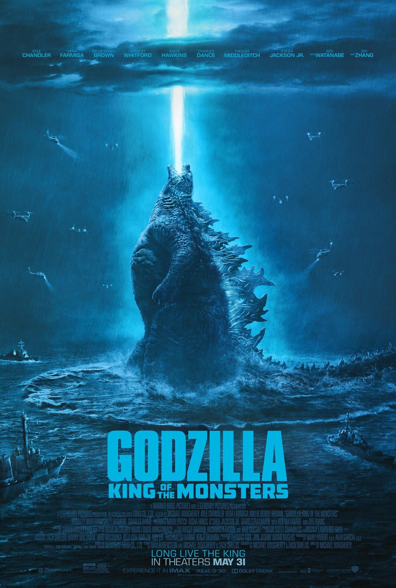 デスクトップ壁紙 ゴジラ Godzilla King Of The Monsters 映画