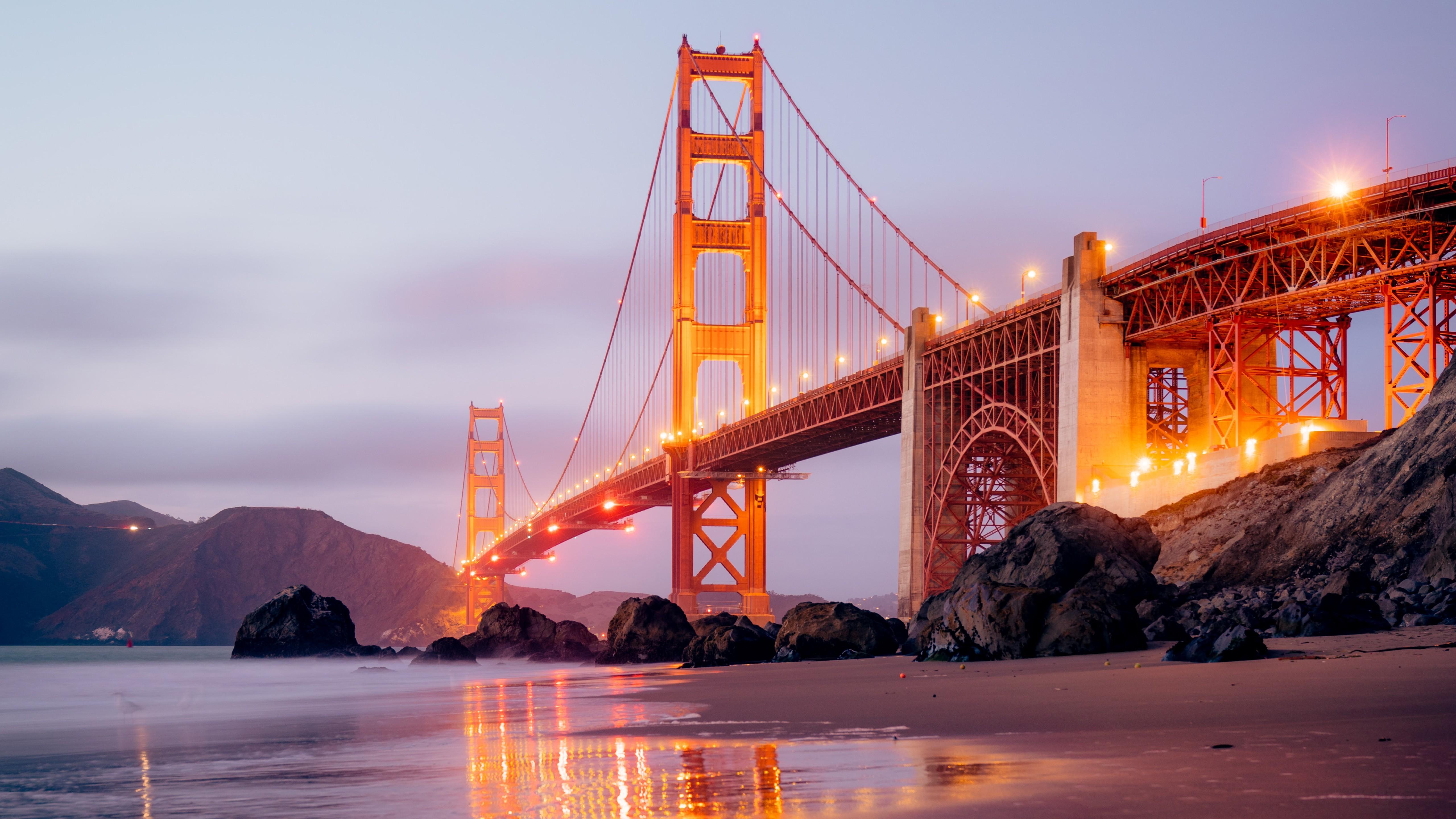 Wallpaper Golden Gate Bridge Usa San Francisco 5120x2880 Mikuu 1717041 Hd Wallpapers Wallhere
