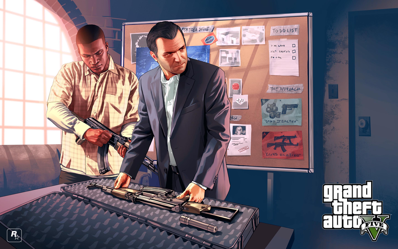 Grand Theft Auto V Michael Franklin Weapons ART Ganshop
