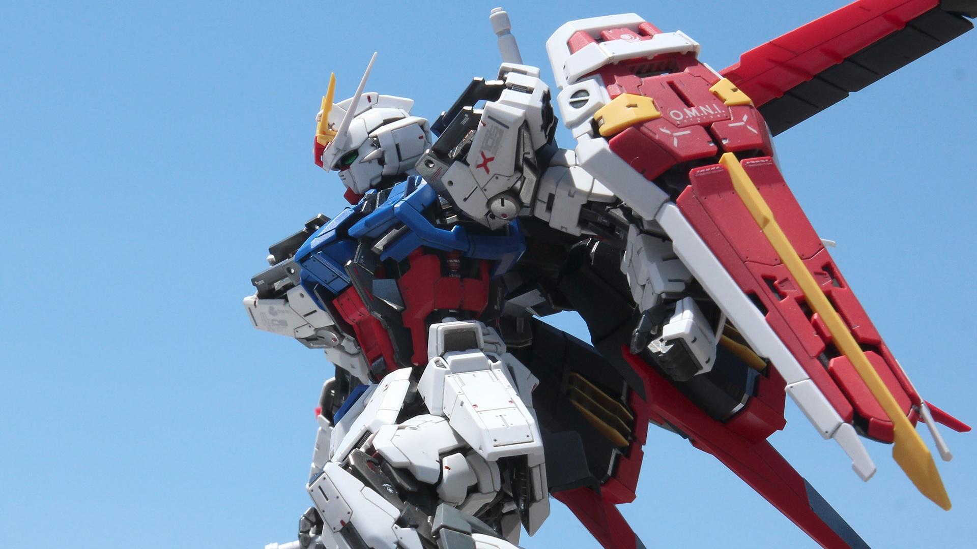 デスクトップ壁紙 Gundam Aile Strike ガンプラ Josh Darrah