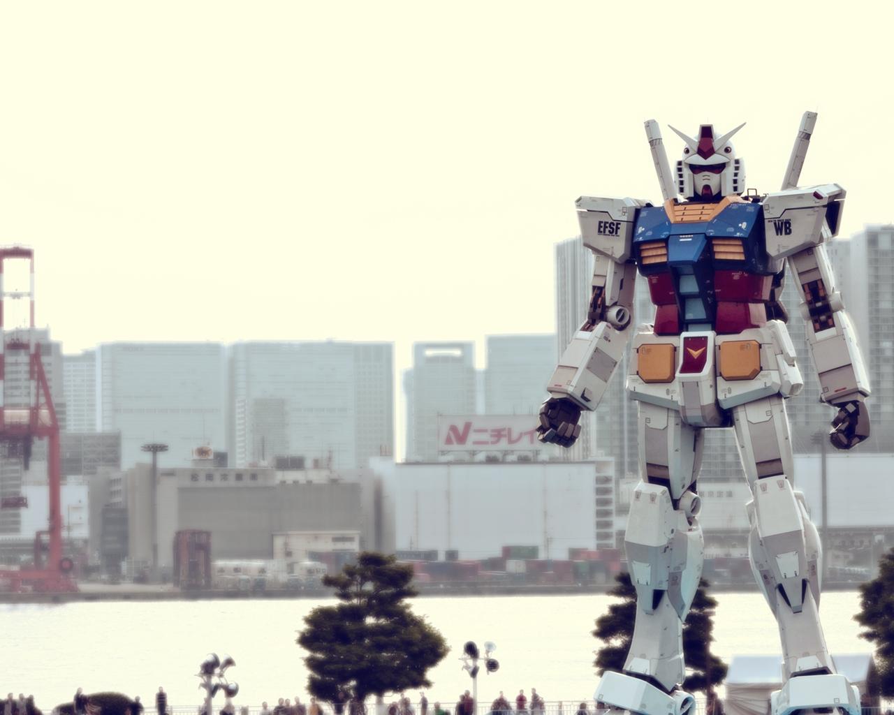 Обои tokyo, gundam. Города foto 9