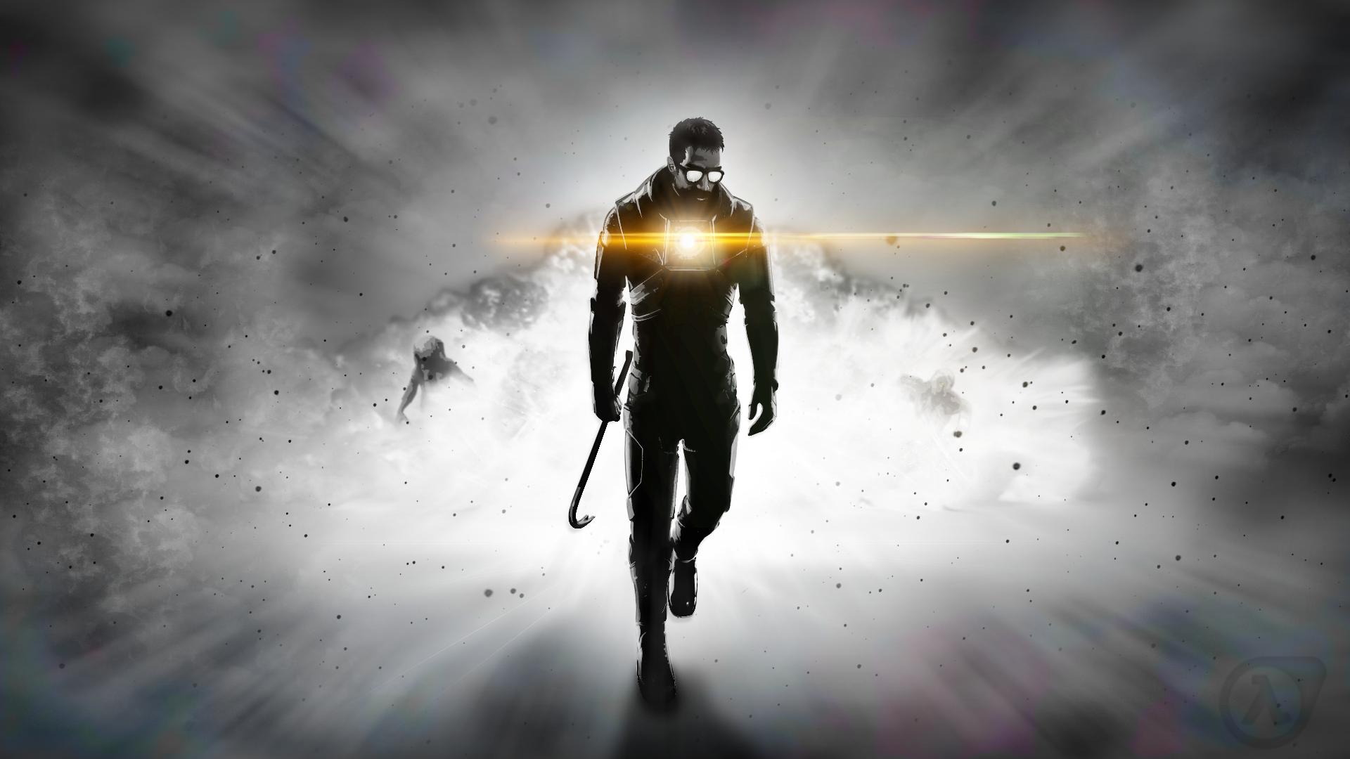 Wallpaper Half Life Valve Corporation Gordon Freeman