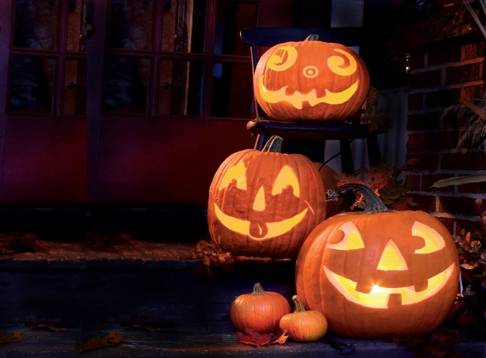 Ansigter græskar Poser Halloween