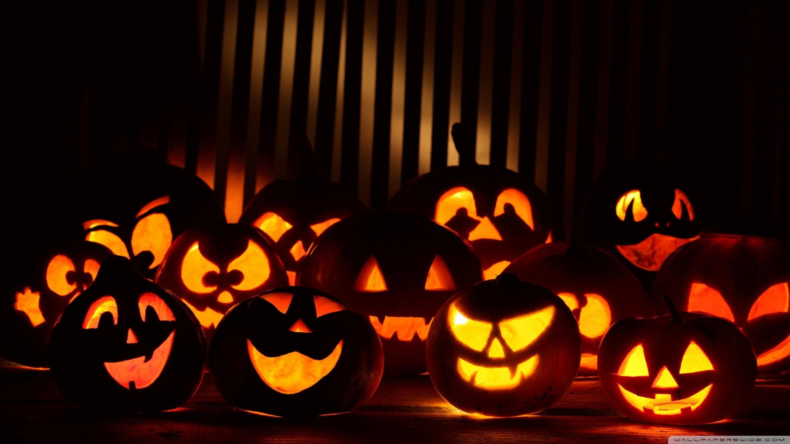デスクトップ壁紙 ハロウィン かぼちゃ 休日 ジャック オー ランタン イベント 点灯 闇 2560x1440 Bochin1976 デスクトップ壁紙 Wallhere