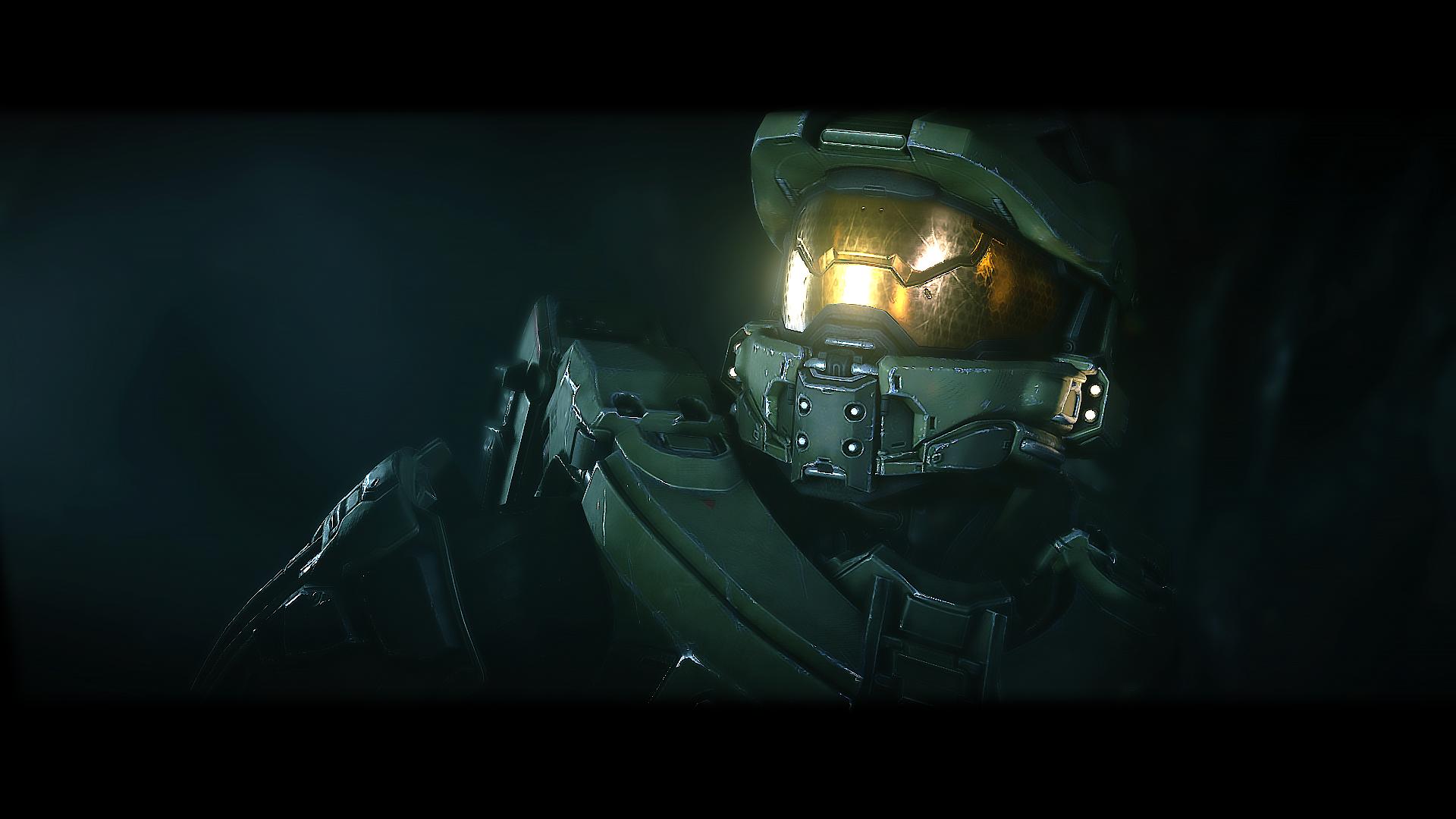 Wallpaper Halo 5 Guardians Master Chief Arbiter Midnight
