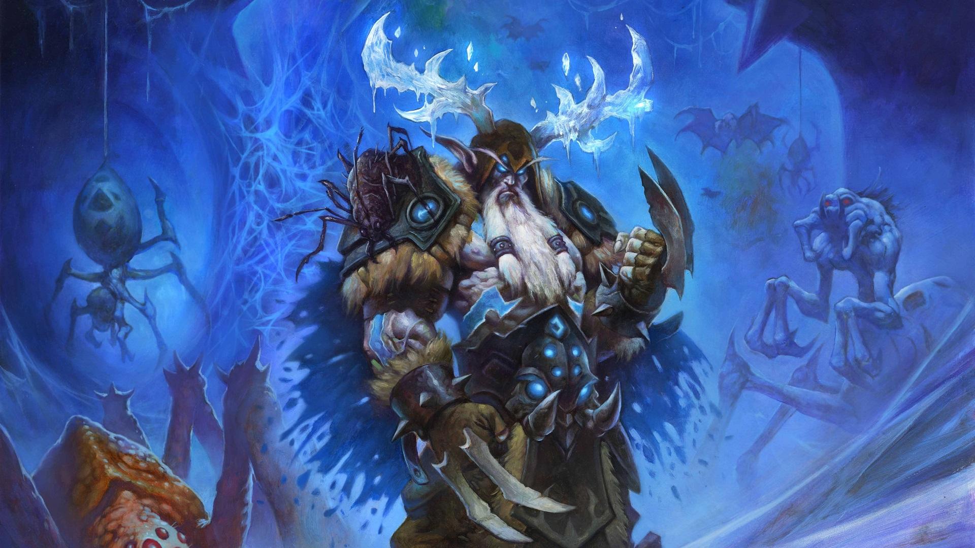 Wallpaper Hearthstone Heroes Of Warcraft Cards Artwork