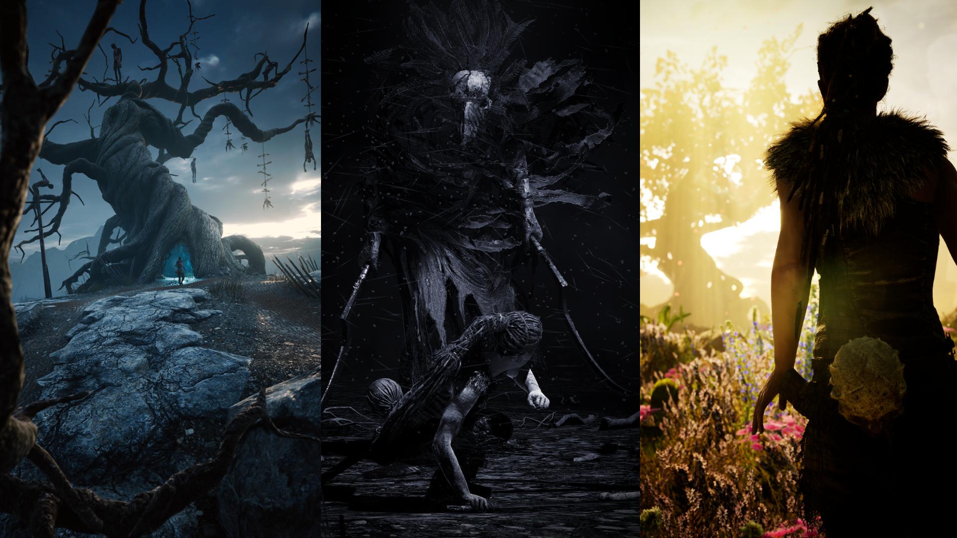 Wallpaper Hellblade Senuas Sacrifice Video Games