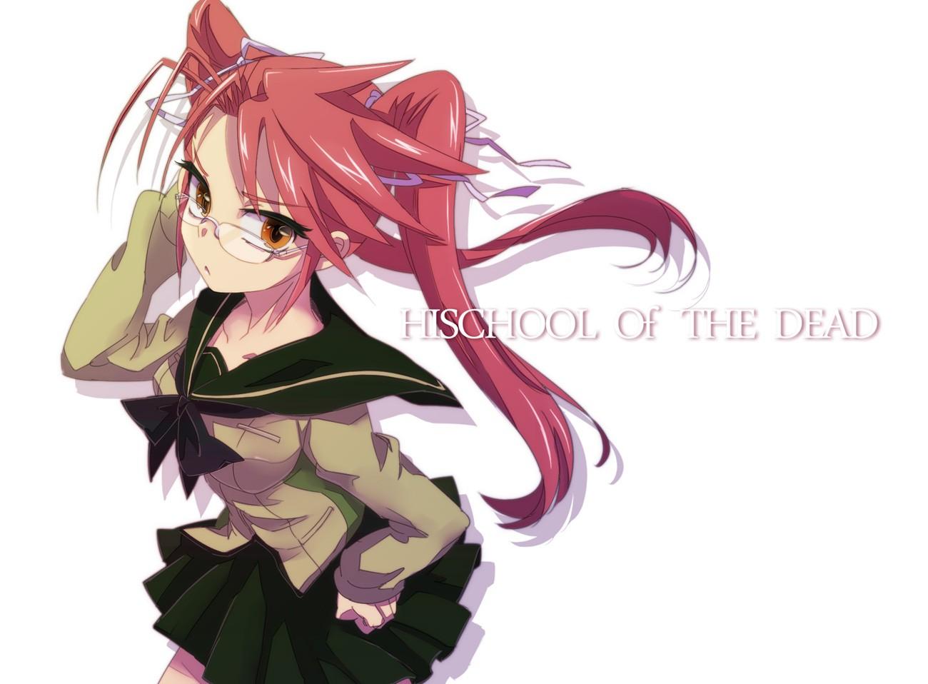 Wallpaper Highschool Of The Dead Anime Girls Takagi Saya
