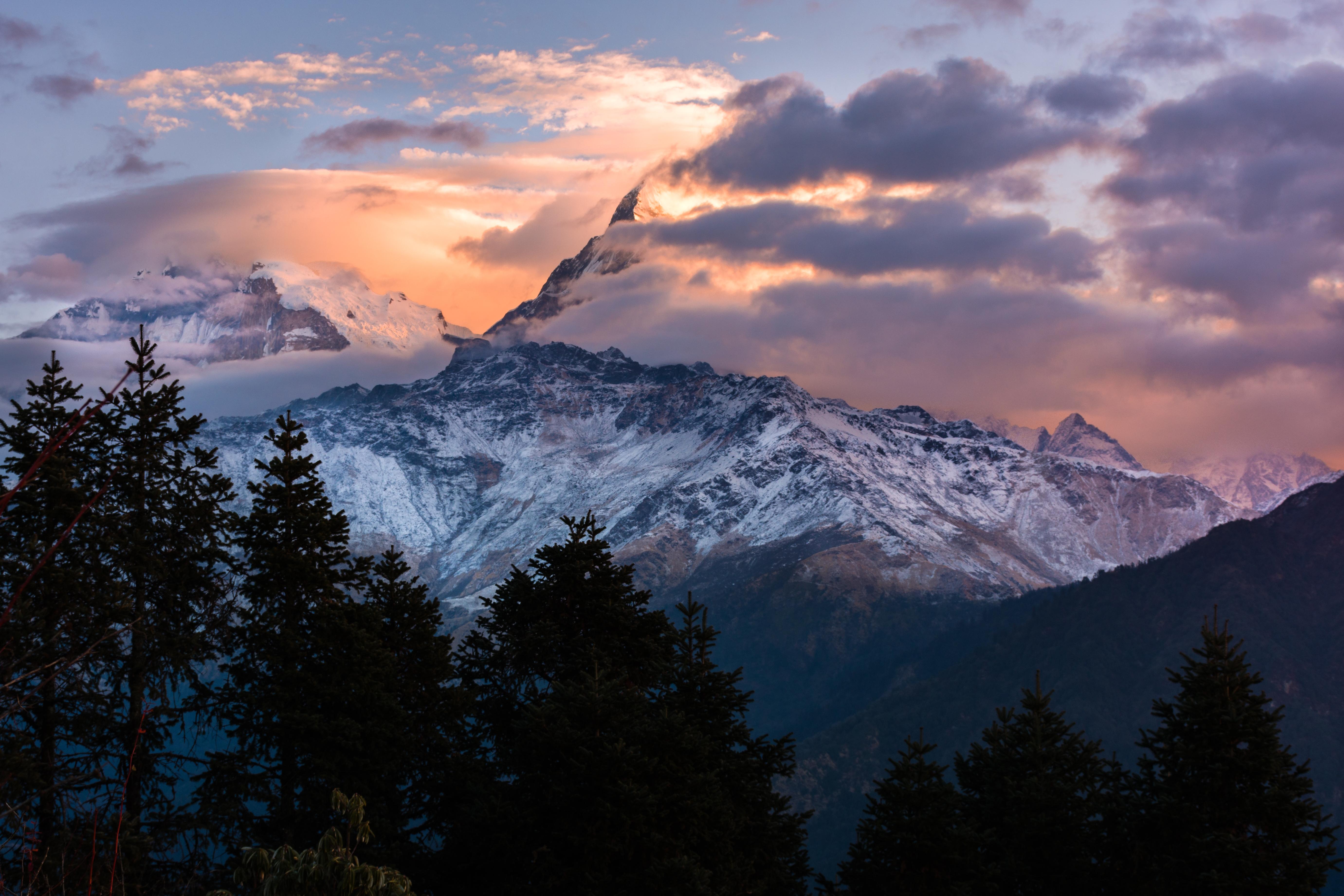 Wallpaper Himalayas Himalaya Himalayan Poon Hill Mountains