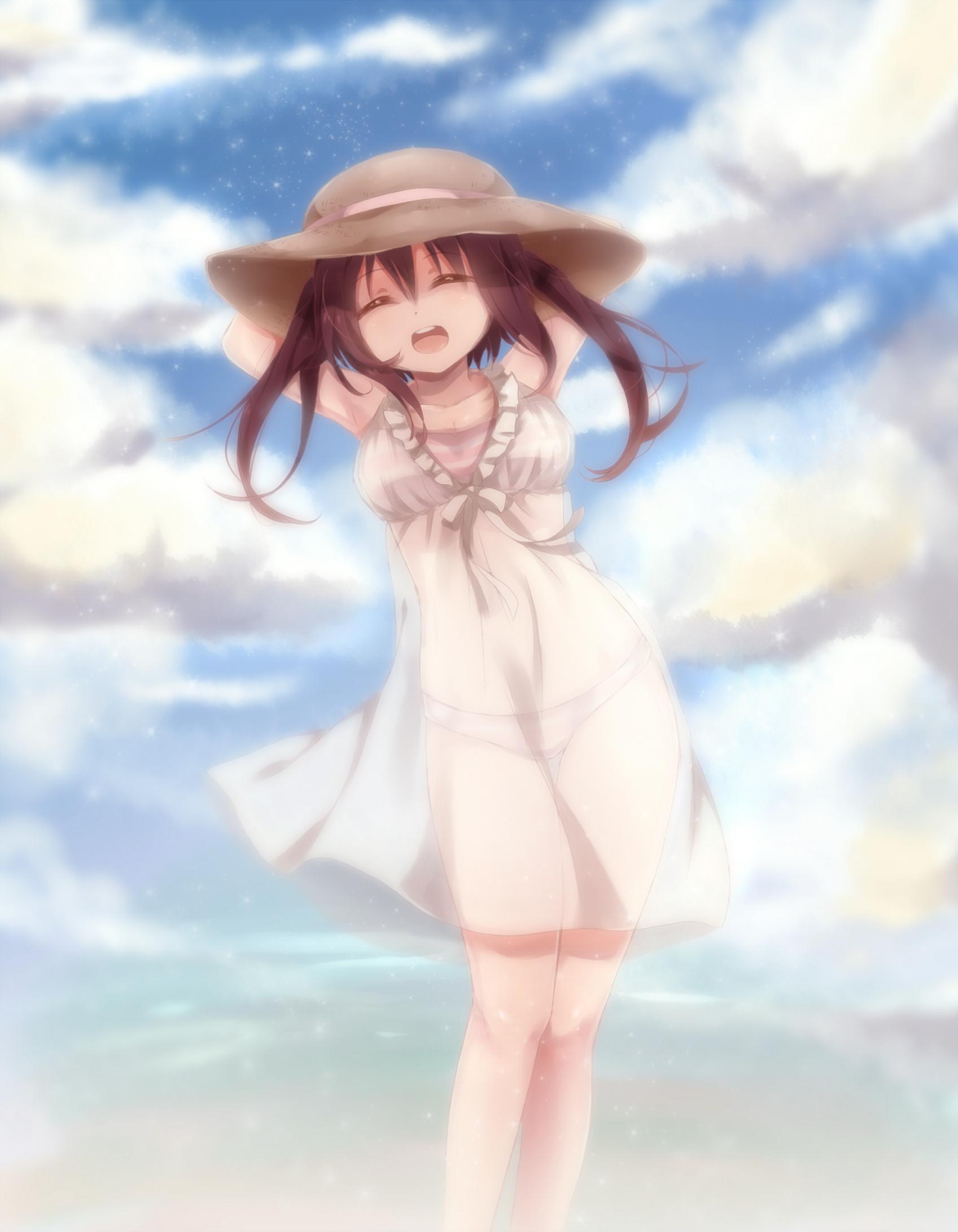 Wallpaper Himouto Umaru Chan Anime Girls Nana Ebina 1697x2183