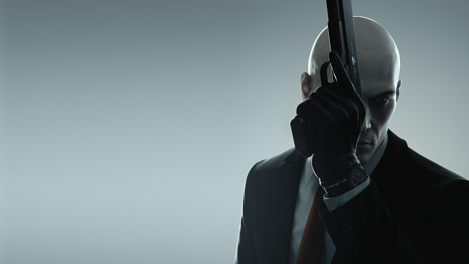 Wallpaper Hitman Io Interactive Square Enix Agent Gun