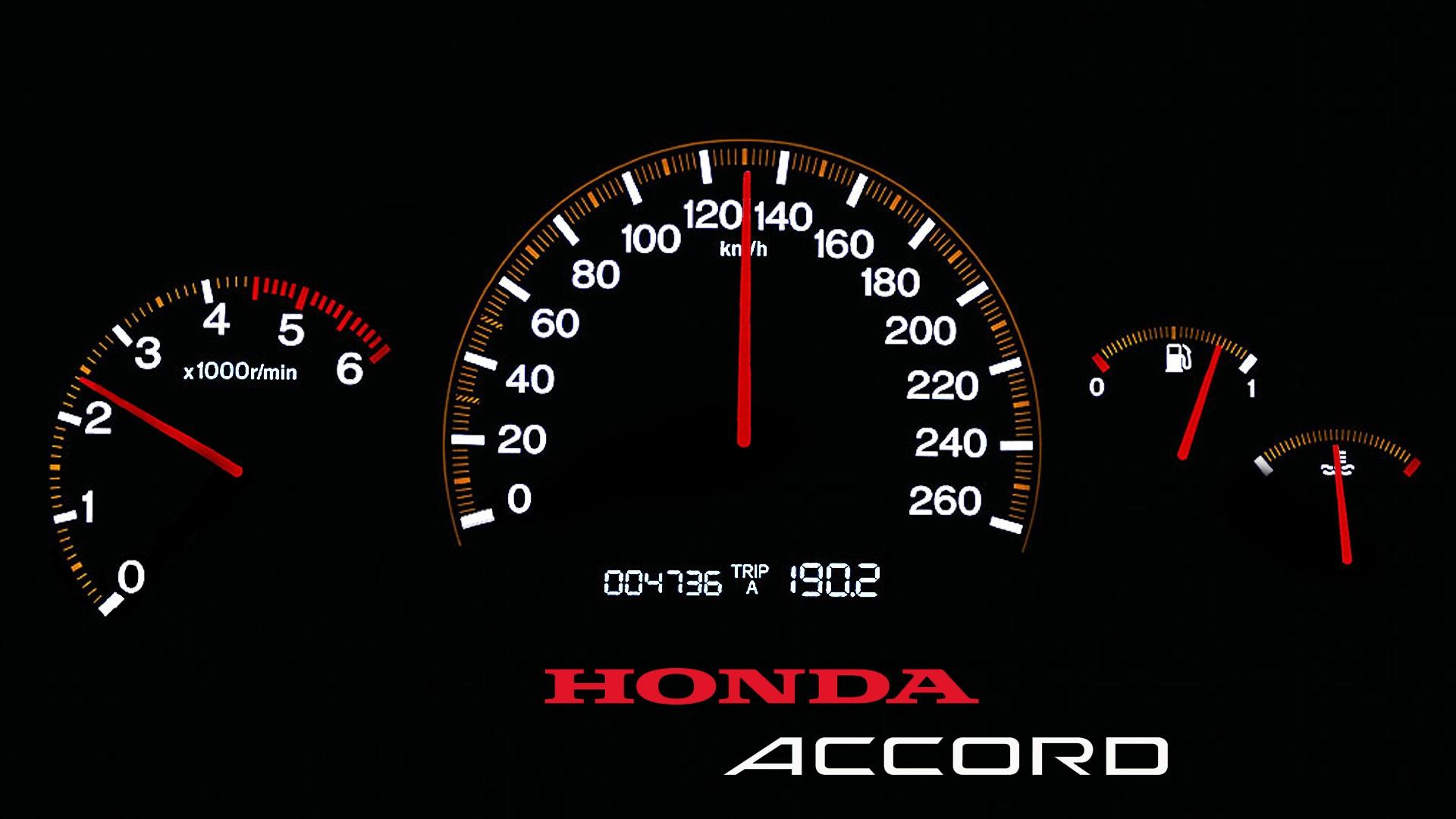 f731791fe58 Honda compteur de vitesse Accord Honda tachymètre roue Extérieur de  l automobile Police de caractère