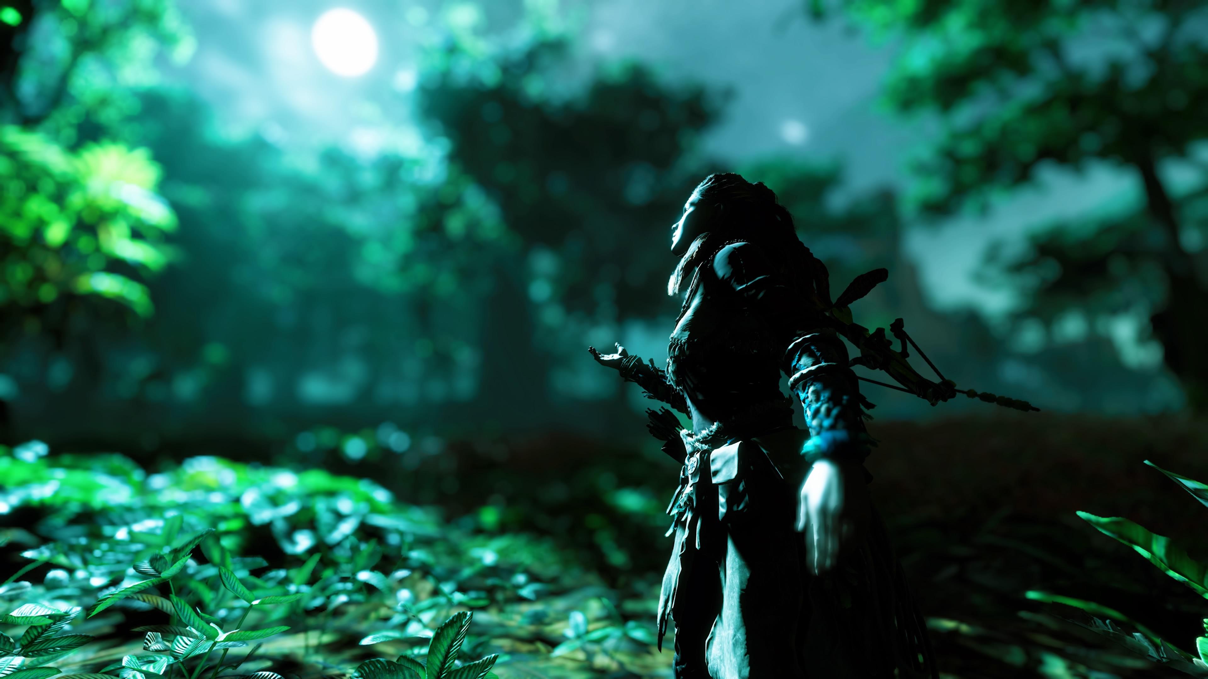 Wallpaper Horizon Zero Dawn 4k Video Games Digital Art