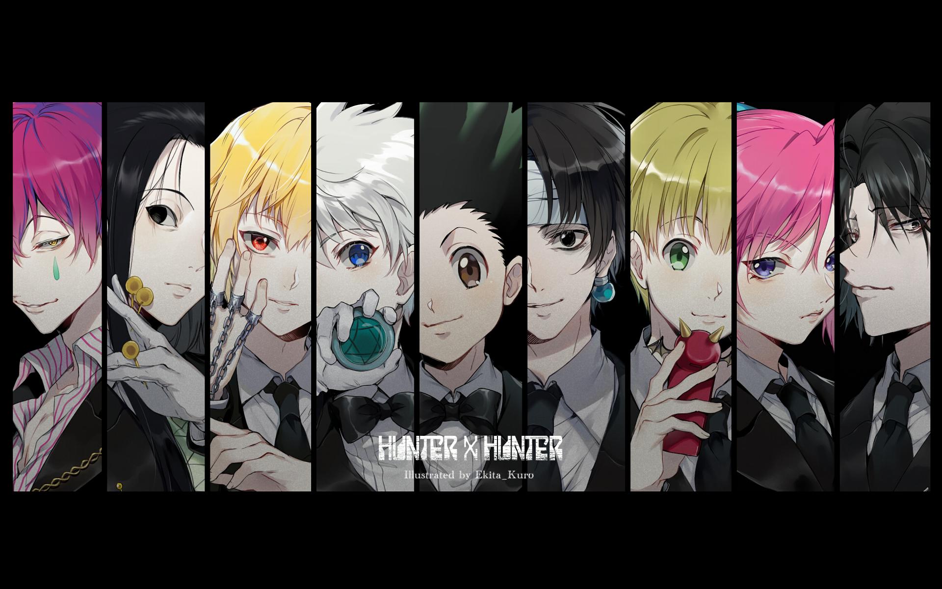 Wallpaper Hunter X Hunter Anime Gon Freecss Hisoka Chrollo