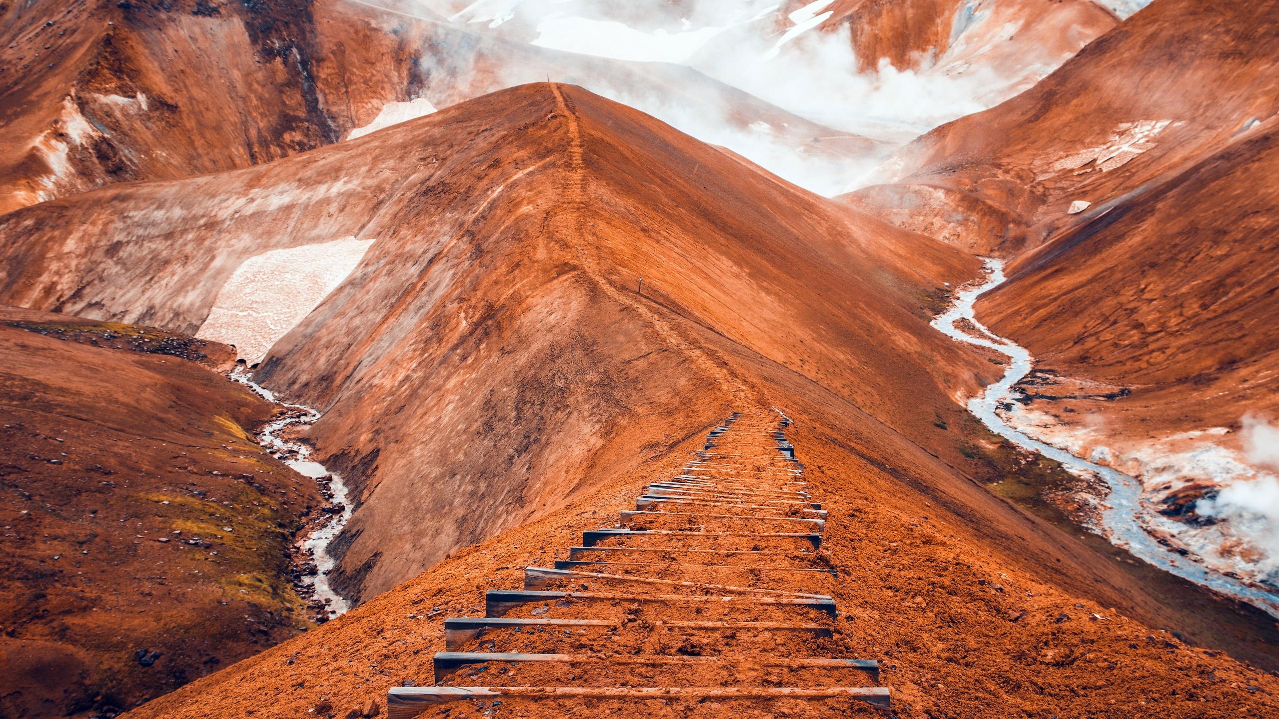 Wallpaper Iceland Nature Landscape 2560x1440 Wallpapermaniac 1933395 Hd Wallpapers Wallhere