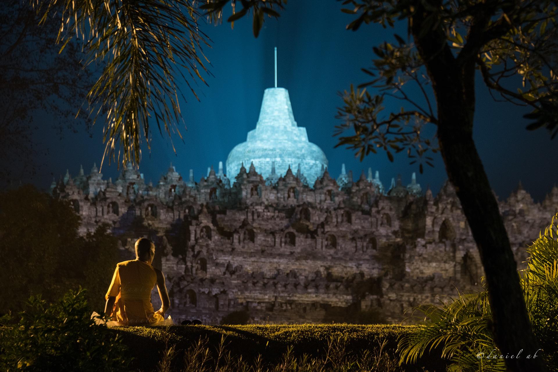 Indonesia Temple Buddha Buddhist Monk Buddhism Jogjakarta Borobudur Vesak Waisak