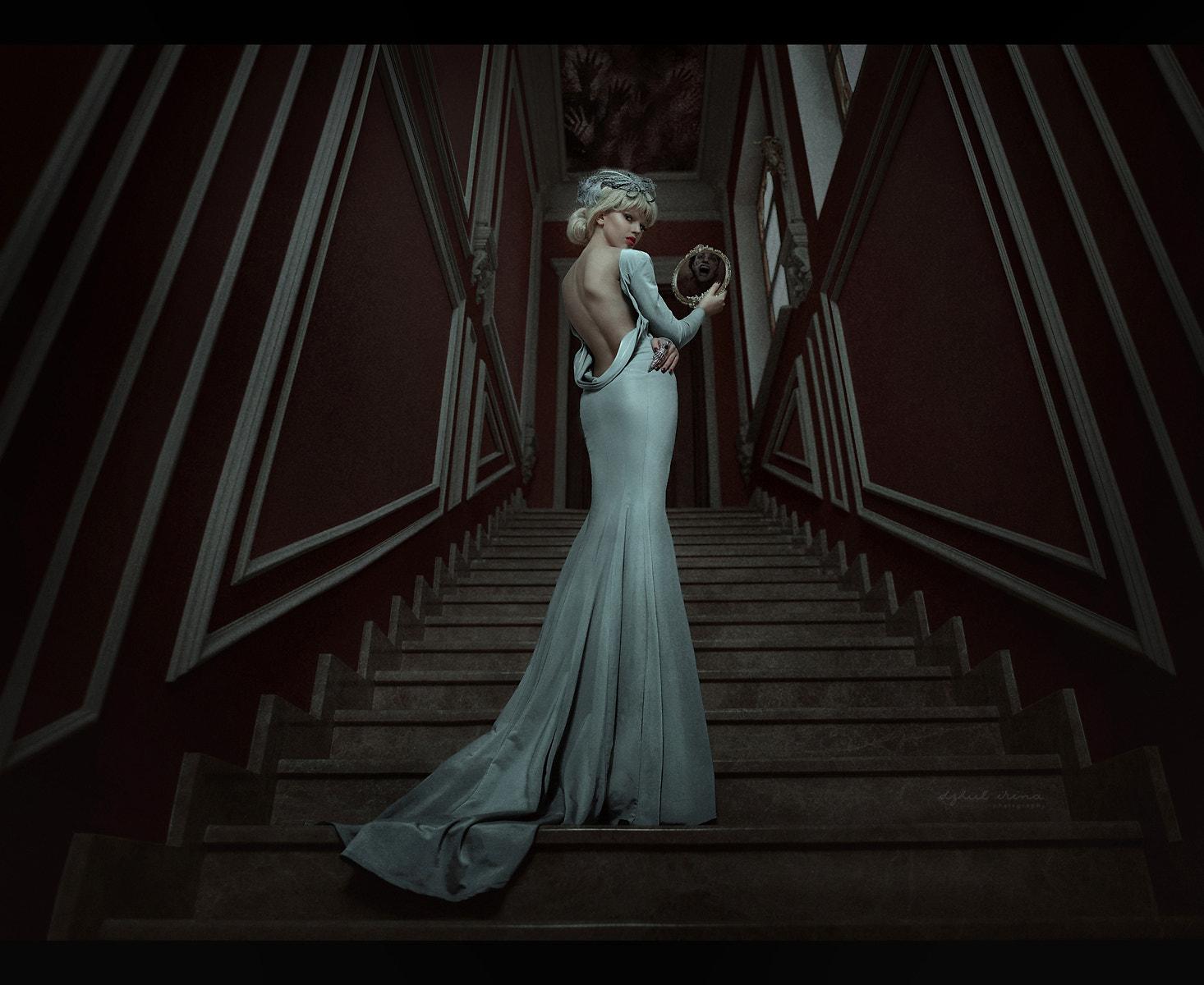 Spiegel Treppen hintergrundbilder irina dzhul treppe spiegel zurückblicken