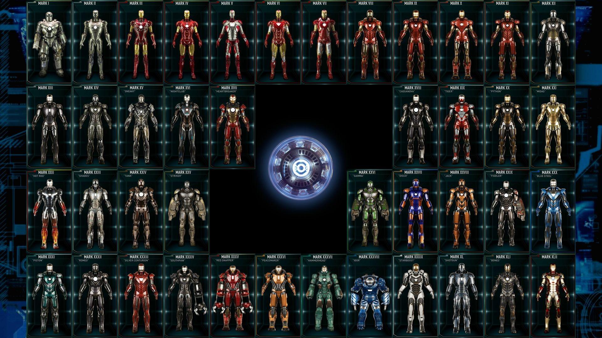 Wallpaper Iron Man Marvel Cinematic Universe Stage