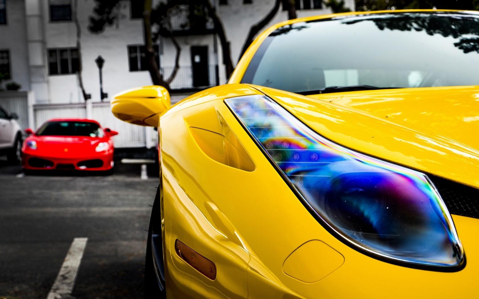 Яркие картинки на машину