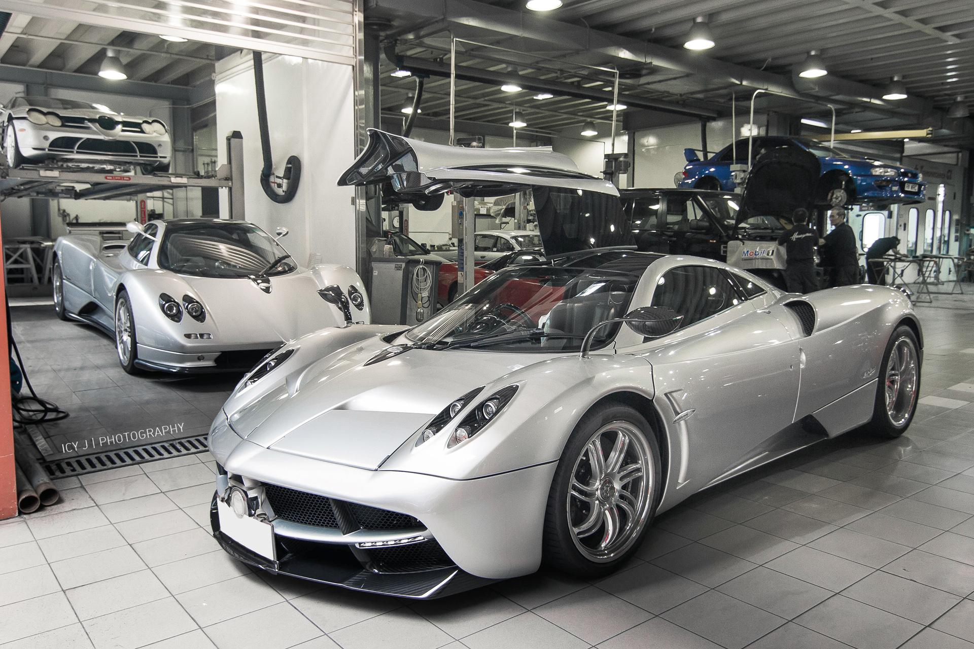 Wallpaper Italy Sports Car Silver Huayra Pagani Zonda - Hyper fast cars