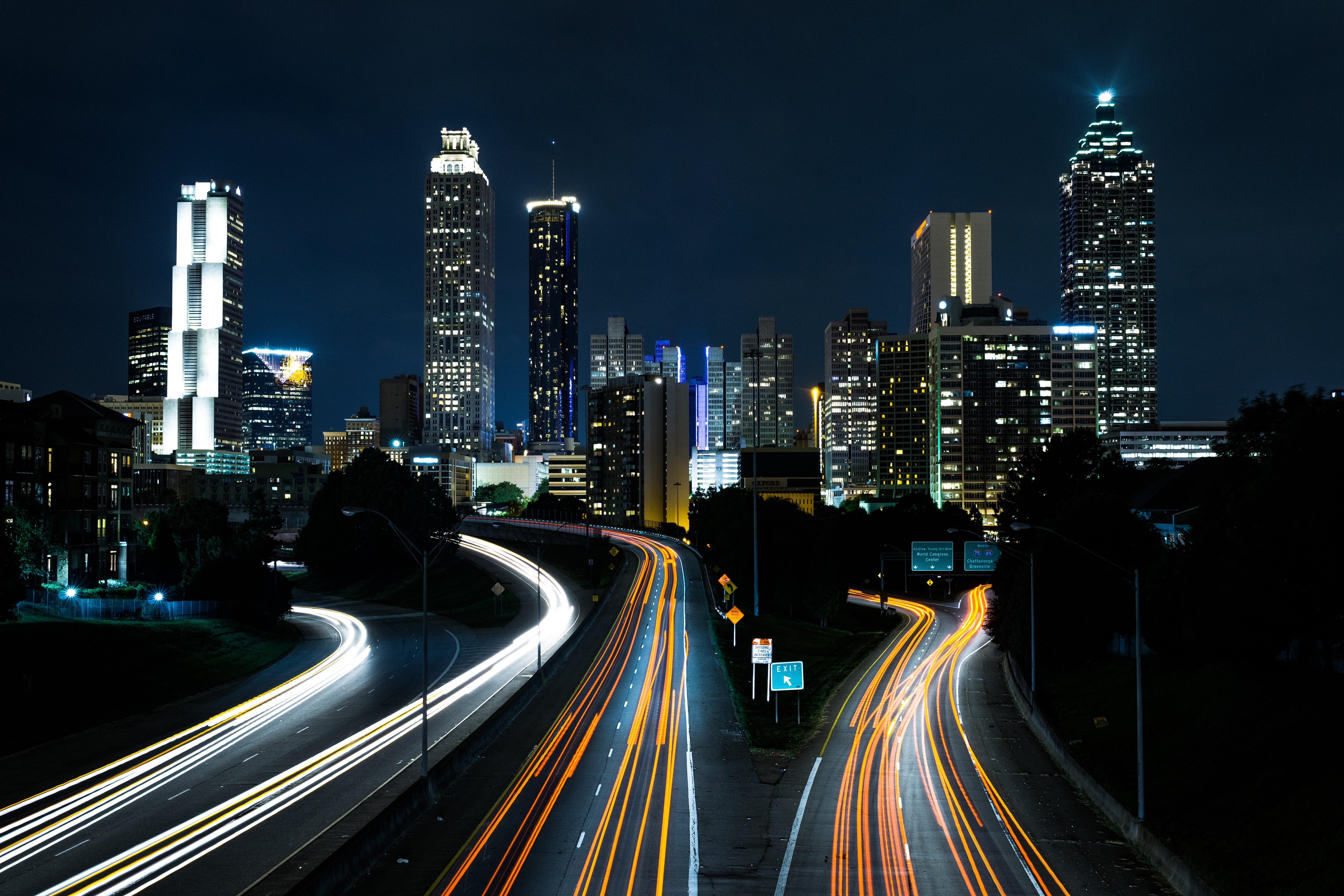 Дорога в город картинки