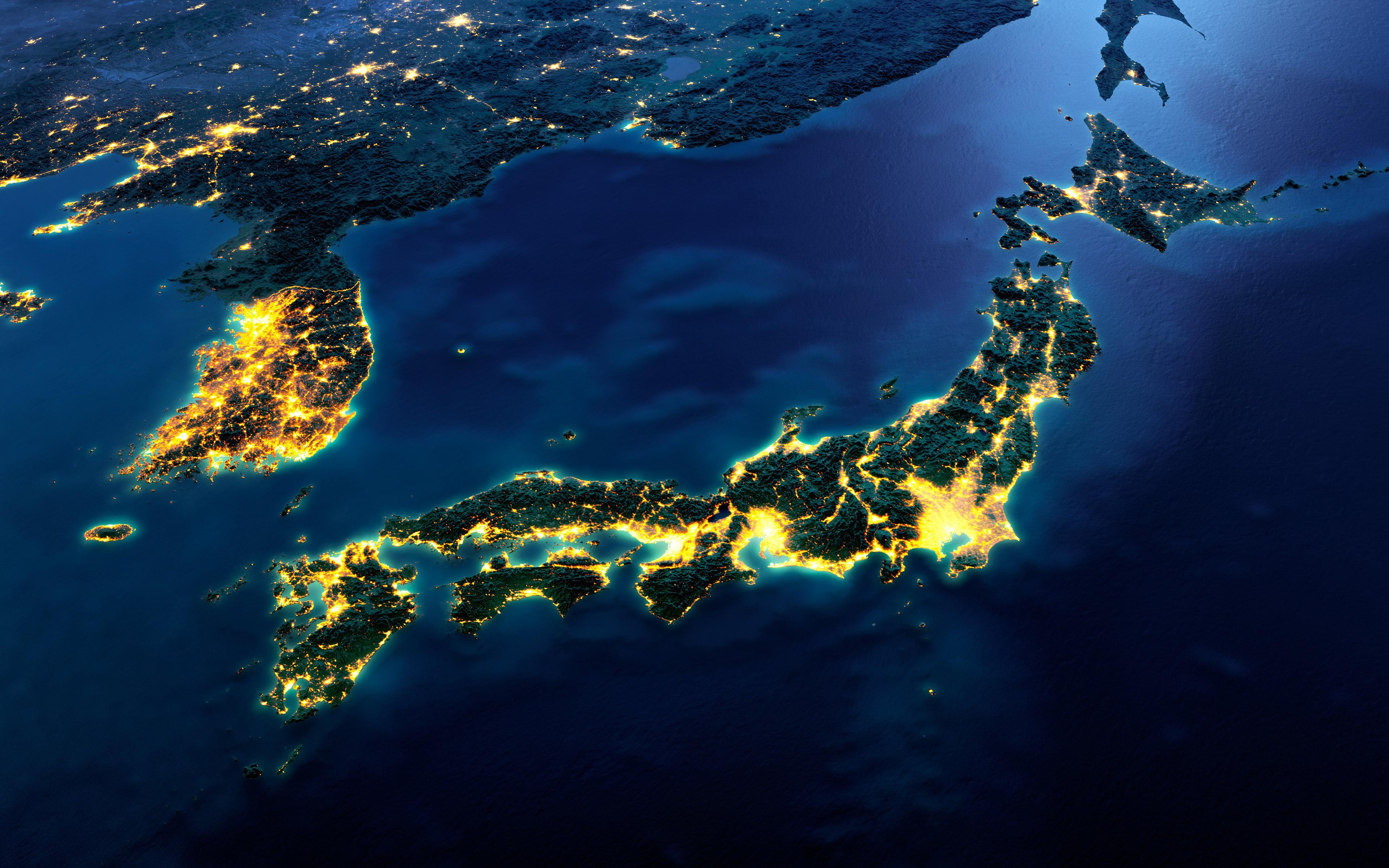 японские острова фото