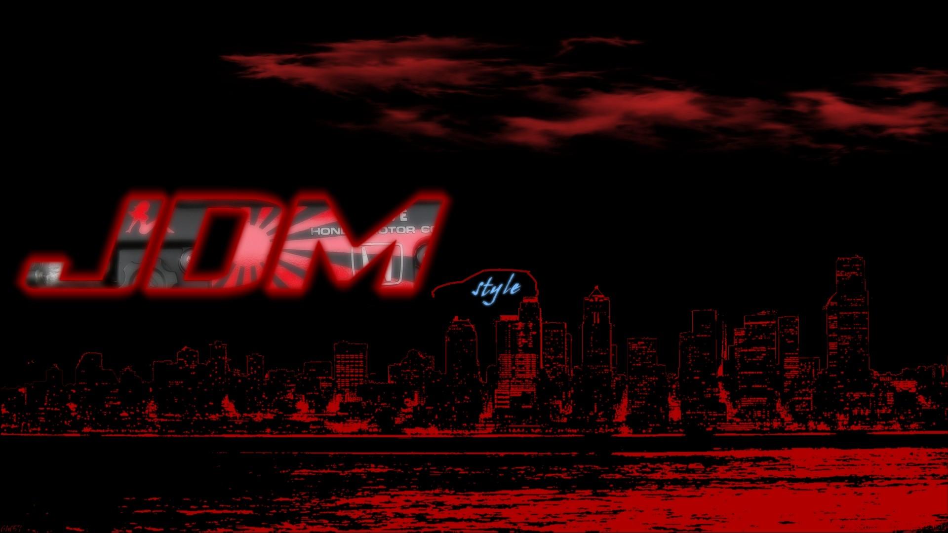 Japan illustration red text jdm honda civic poster brand darkness screenshot 1920x1080 px computer wallpaper font