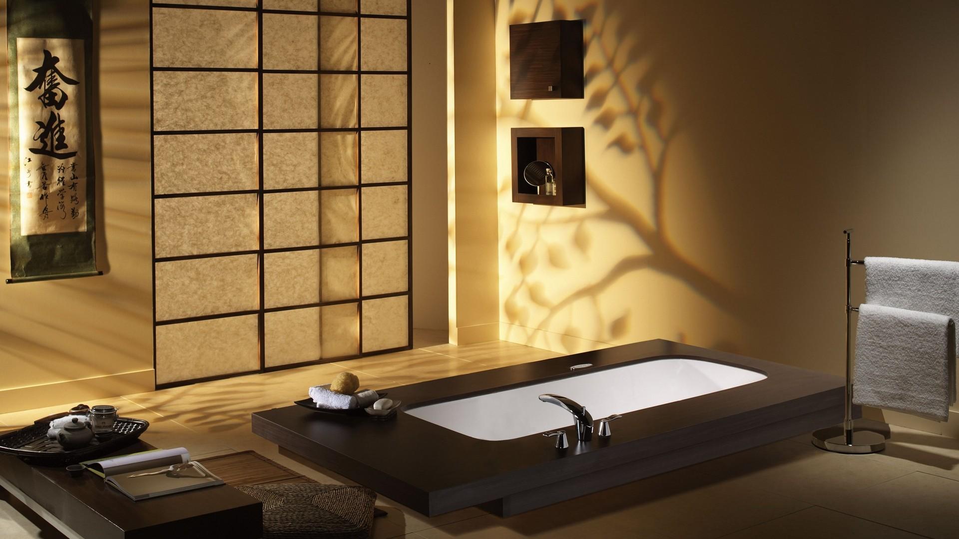 Vasca Da Bagno Stile Giapponese : Sfondi giappone camera interno vasca da bagno interior