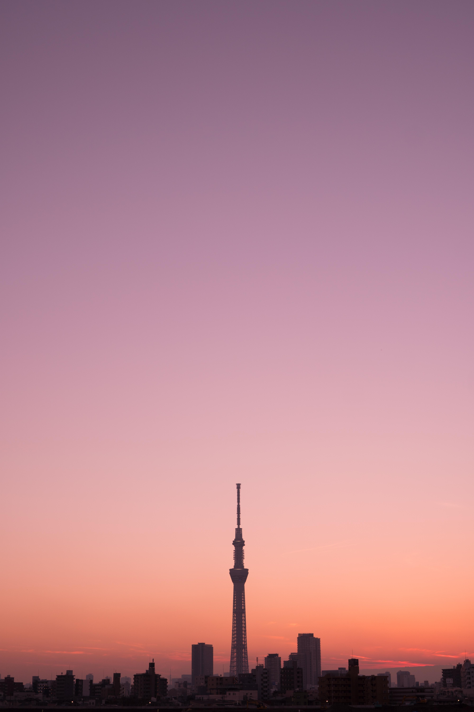 Fond D écran Japon Le Coucher Du Soleil Ville Paysage
