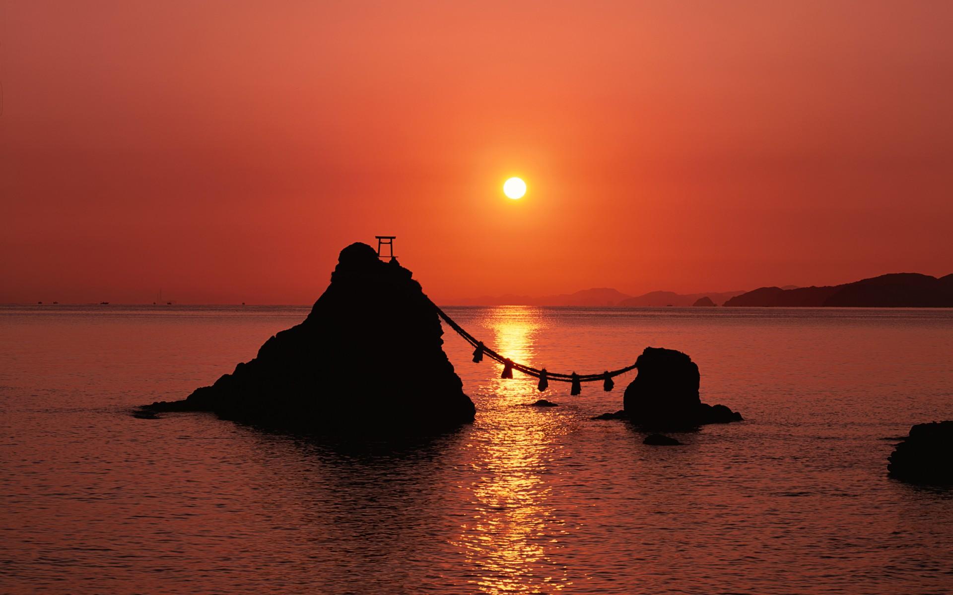 фото японского моря закат очки лучше