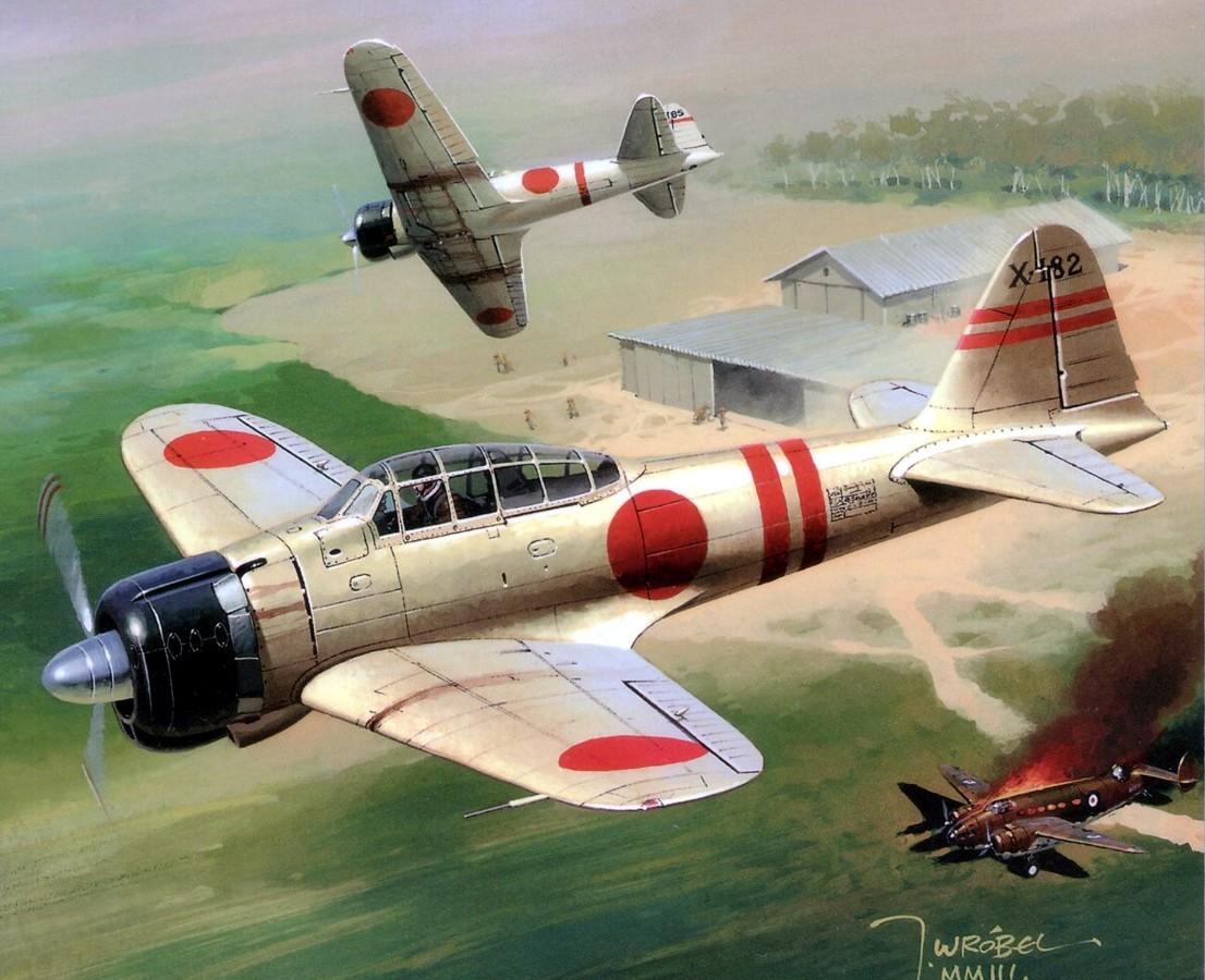 Fond d 39 cran japon v hicule avion japonais avion - Porte avion japonais seconde guerre mondiale ...