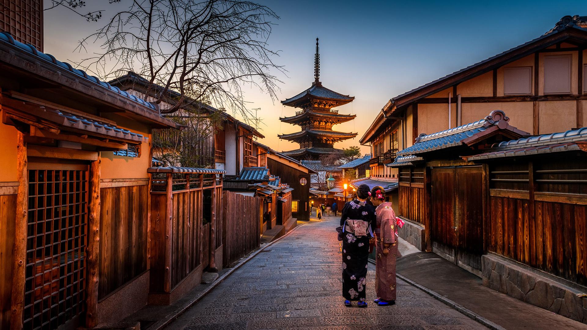 Fond d'écran : Femmes japonaises, Kyoto, pagode, Japon 1920x1080 - alex93s - 1157749 - Fond d ...