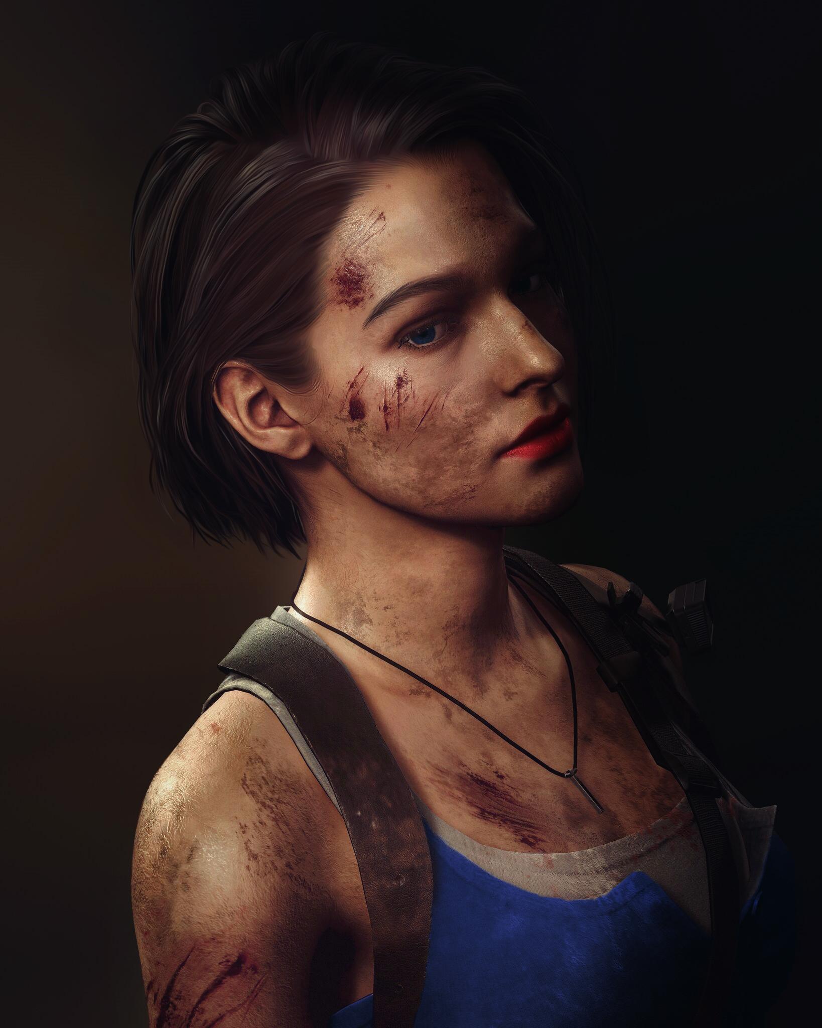 Wallpaper Jill Valentine Resident Evil Resident Evil 3 Remake