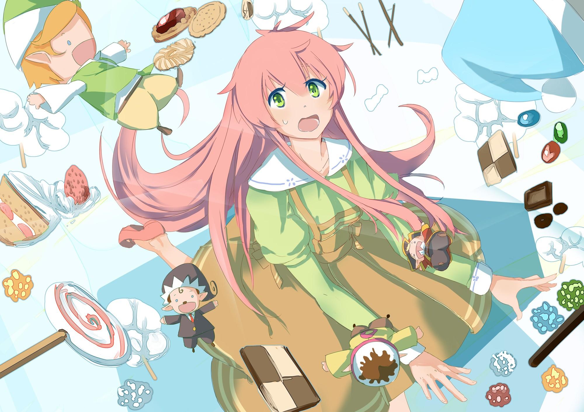 Wallpaper Jinrui Wa Suitai Shimashita Anime Girls Watashi