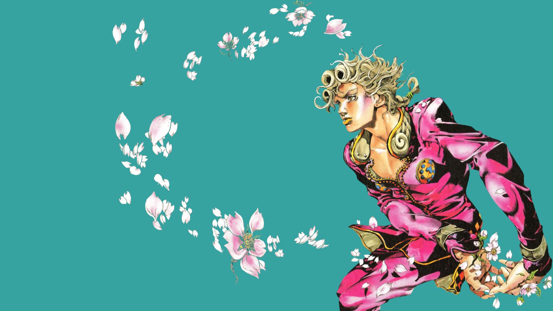 Wallpaper Jojo S Bizarre Adventure Giorno Giovanna Minimalism Manga 1920x1080 Mc024 1936697 Hd Wallpapers Wallhere